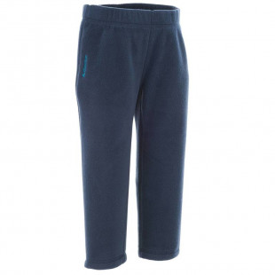 CN Fleece hiking trousers MH 100 Navy Blue