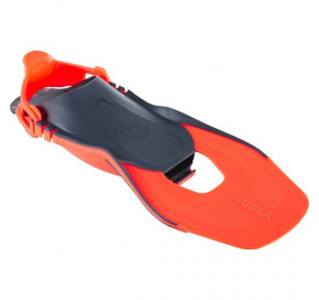 f91249f69 SNK 500 Kids Snorkelling Fins orange adjustable EU 28-31